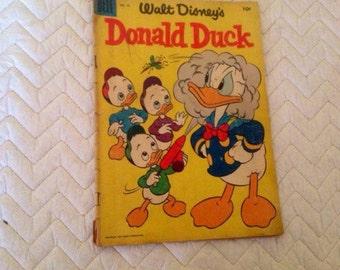 1955 Walt Disney's Donald Duck Comic Book.