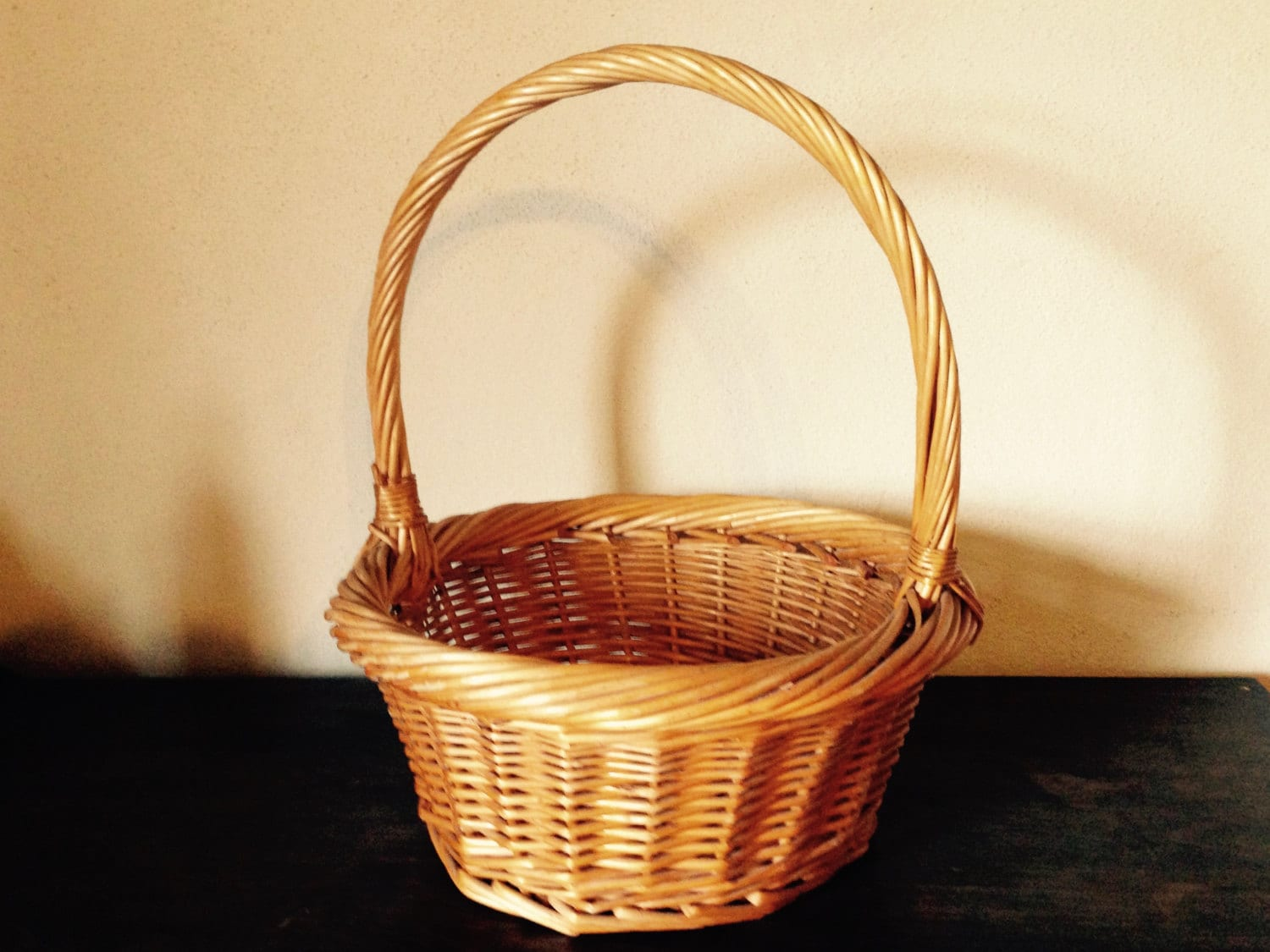 Panier En Osier Wicker : Wicker basket cat bed french