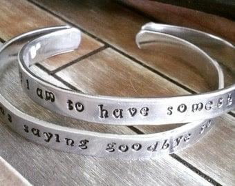 1/4 inch cuff bracelet, friendship bracelets