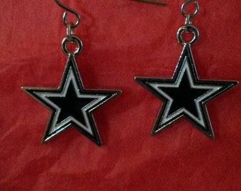 Dallas Cowboys Stars Earrings
