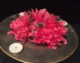 Pretty in pink belly dance tray