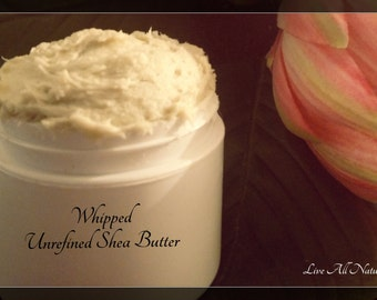 Whipped unrefined Shea butter, Whipped Shea Butter, Natural Shea Butter, Whipped Shea body Butter, Shea Butter moisturizer