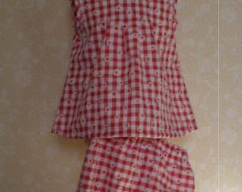 Girls dress and pants set