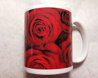 Roses that never die - Red Roses mug