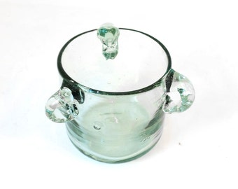 Vintage Three Handled Glass Cup