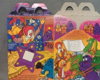McDonald's Happy Meal Making Movies Happy Meal Carrier