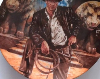 Indiana Jones Plate First Issue