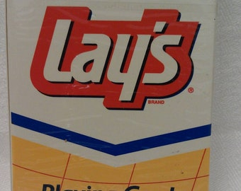 Lay's Potato Chips Playing Cards