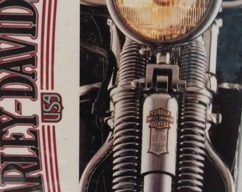 Harley Davidson Motorcycles Playing Cards