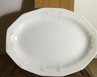 Vintage Ironstone White Farmhouse Platter