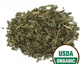 Lemon Balm Leaf c/s, Organic 1 lb. POUND