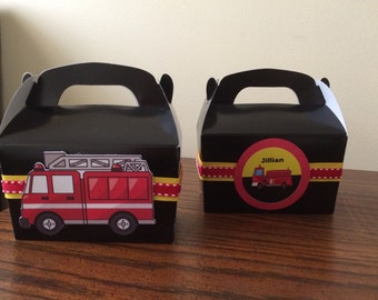 Fire Truck Favor Box- We can do any theme!