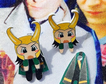 Loki Cling Earrings