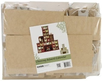 Kaisercraft Beyond the Page CHIMNEY ADVENT Calendar kit