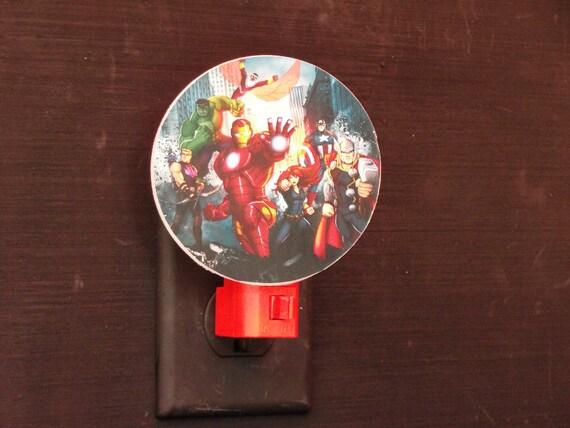 Avengers assemble comic book version night light - Avenger nightlights ...
