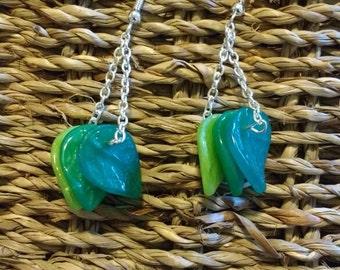Leafing so soon? earrings