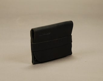 Redoker Genuine Leather Sashay Wallet - Black