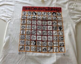 Set of 2 80s Mein Deutsches TalkingT T Shirts
