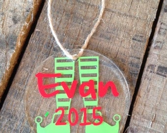 Christmas Ornaments Personalized Christmas Ornaments Acrylic Christmas Ornament Christmas Ornaments Monogrammed Christmas Ornament