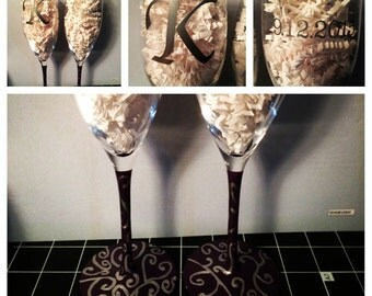 Toasting Champagne Glasses