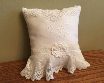 Vintage, Shabby Chic Pillow