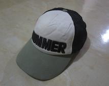 Vintage Hummer Vintage Trucker Cap Hat Vintage Hummer Cap Hat GMC