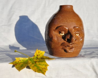 Face Jug, North Carolina Face Jug, Moonshine/Whiskey Jug