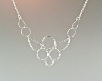 Custom Bib Style Necklace - Item# CN-2