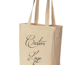 25 Custom canvas tote bags