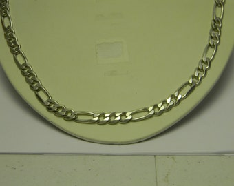 Vintage Figaro Chain Necklace #   Z2466