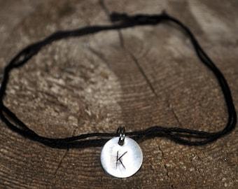 Initial K String Friendship Bracelet