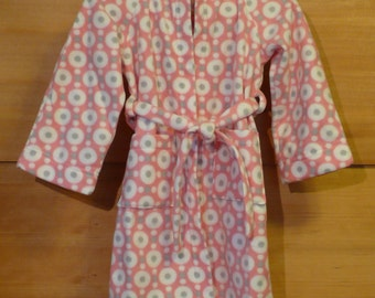 Childs Hooded Fleece Robe