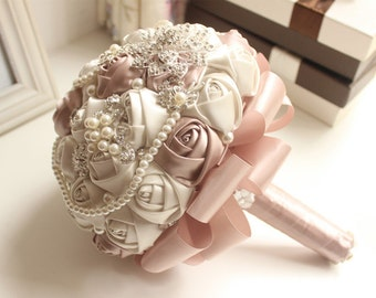 Brooch Bouquet Wedding Bridal Bridesmaids Bouquets Flower Girl