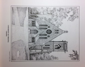 University of Virginia Chapel Print