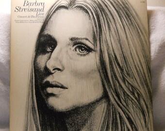 Sale! Barbara Streisand Live Concert at the Forum Vinyl LP 1972