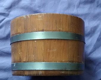 1950s Basketville Nut Bucket from Putrey, Vermont