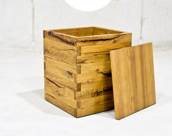 Wood stool stool wood pile