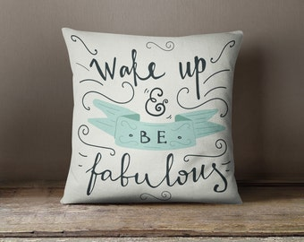 Pillows with Sayings   Throw Pillows With Words   Throw Pillows with Sayings   Quote Pillow   Hostess Gifts   Motivational Pillow  