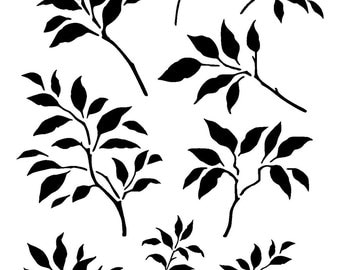 "11.7/16.5"" Branches leaves design 2. A3"