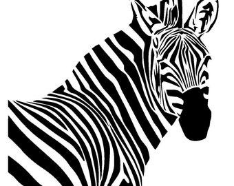 "12/12"" zebra stencil 1."