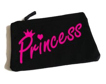 Princess Makeup Bag. Princess Bag. Princess Accessory Bag. Cosmetic Bag. I'm a Disney Princess.