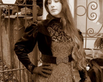 Fantasy velvet dress