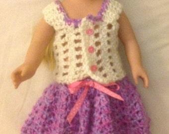 Crochet Skirt and Sleeveless Top.