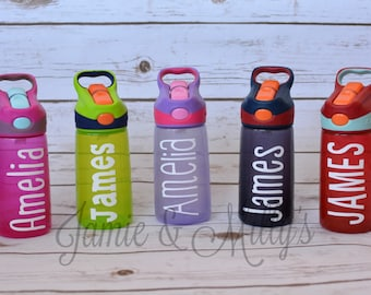 Name Decal for Water Bottle 7-inch (or anything you want to personalize!) | vinyl name sticker | personalized gift | Yeti | RTIC