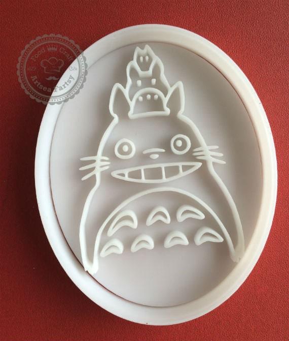 Large Totoro cookie cutter Chibi Chu totoro
