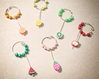 Fruity wine charms
