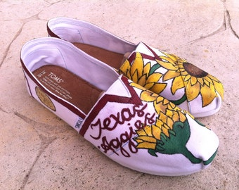 Aggie Sunflower Shoes