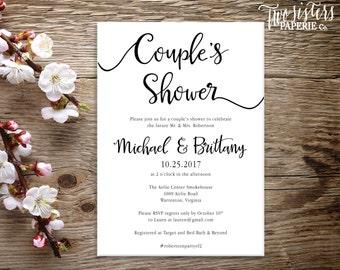 Couple's Shower Invitation