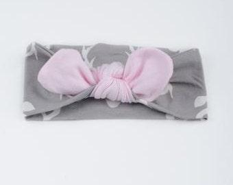 Pink Deer Headband (6m to 36m) Free Shipping