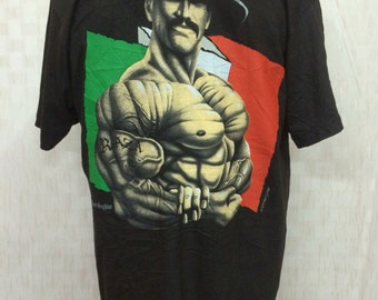 Vintage Deadstock 90s / 1996 Master Graphic THEE MAN Tshirt